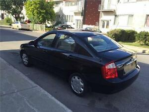 2005 KIA SPECTRA- AUTOMATIC- 111 000km- A-C, IMPECABLE- 2400$