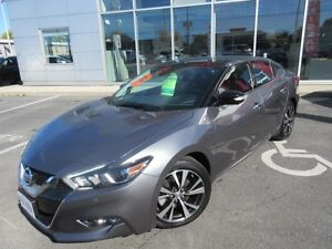 2016 NISSAN MAXIMA PLATINUM PKG PANA ROOF NAVI A/C SEATS LOADED