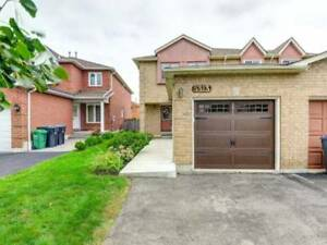 3BR Semi-Detached House Located In Bullrush Dr Mississauga