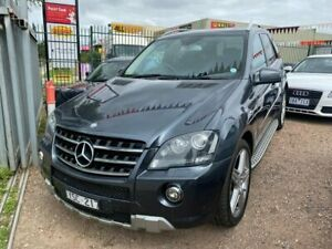 2011 Mercedes-Benz ML350 CDI W164 09 Upgrade 4x4 Grey 7 Speed Automatic G-Tronic Wagon Hoppers Crossing Wyndham Area Preview