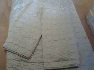 COMFORTER COVER KING SIZE WITH TWO SHAMS LIGHT GRAY