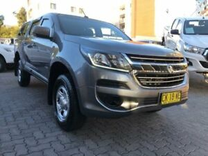 2017 Holden Colorado RG MY17 LS (4x2) Grey 6 Speed Automatic Crew Cab Pickup North Strathfield Canada Bay Area Preview