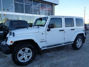 2012 Jeep Wrangler Unlimited Sahara - 4x4! Topless Fun! Hard @ S