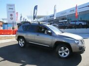 2012 Jeep Compass MK MY13 Sport Grey 5 Speed Manual Wagon Wickham Newcastle Area Preview
