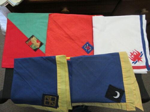 Boy Scout International Scarf Neckerchief Lot of 5     fx2  #4