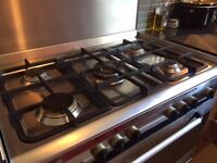BAUMATIC 5 burner gas range 7 years old