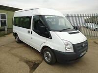 Ford Transit SHUTTLE BUS MEDIUM ROOF 9 SEATERTDCI 125 PS DIESEL MANUAL (2012)