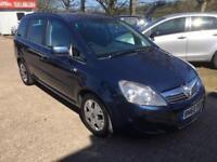2010 Vauxhall Zafira Exclusiv Cdti Auto Finance Available 1.9