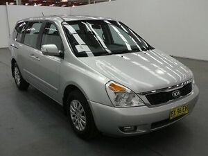 2015 Kia Grand Carnival VQ MY14 S Silver 6 Speed Automatic Wagon Fyshwick South Canberra Preview