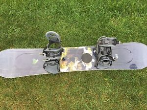 LTD Snowboard with Bindings and Boots