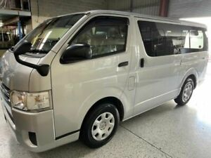 2016 Toyota HiAce 200 DX LONG GL Silver Automatic Van