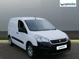 2017 Peugeot Partner 850 S 1.6 BlueHDi 100 Van [non Start Stop] Diesel white Man