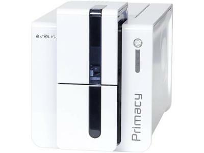Evolis Pm1h0000bs Primacy Simplex Expert Card Printer   Single Sided   White Blu