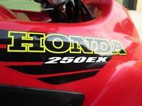 HONDA TRX 250 EX SPORTRAX 250 2WD SPORTS QUAD BIKE 2001