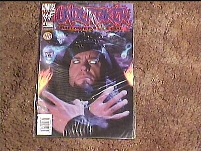 UNDERTAKER HALLOWEEN SPECIAL # 1  COMIC BOOK VF/NM  WRESTLING - Undertaker Halloween