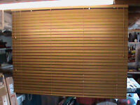 50mm wood slat venetian blind new and unused