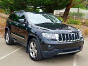 2012 Jeep Grand Cherokee WK MY2012 Limited Black 5 Speed Sports Automatic Wagon Littlehampton Mount Barker Area Preview