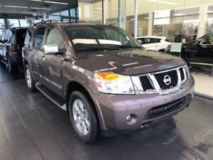 2013 Nissan Armada Platinum, Local Trade, DVD players