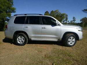 2016 Toyota Landcruiser VDJ200R MY16 GXL (4x4) Silver Pearl 6 Speed Automatic Wagon Chinchilla Dalby Area Preview