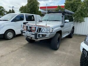 2010 NISSAN PATROL ST GU 7 5SPEED MANUAL 4X4 MY10 SERIES II ARB BULL BAR LOW KMS ARB ROOF RACKS WITH Lansvale Liverpool Area Preview