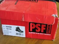 Work Boots Steel Toe Very Top Quality Brand Boxed New Half Price Size 10 44 Can Deliver If Local
