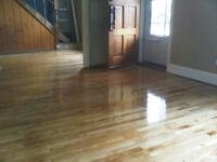 FLOOR & Stairs Sanding &Staining-SABLAGE de Plancher $1.10Sqft