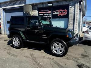 2011 Jeep Wrangler Sahara SPORT 4X4 TRAIL RATED 2 TOITS