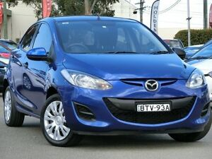 2010 Mazda 2 DE10Y1 MY10 Neo Blue 5 Speed Manual Hatchback Condell Park Bankstown Area Preview