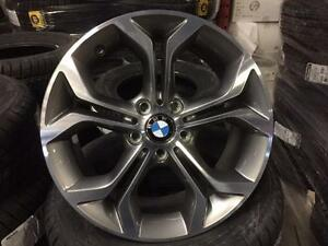 "OEM Brand new 18'"" x 8"" BMW Machine finish wheel"