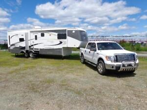 2012 Ford F-150 Supercrew XLT & 30 ft Montego Bay 5th Wheel