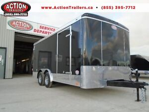 Fully Loaded Enclosed Construction Trailer - 2017 8X16 ATLAS!! London Ontario image 1