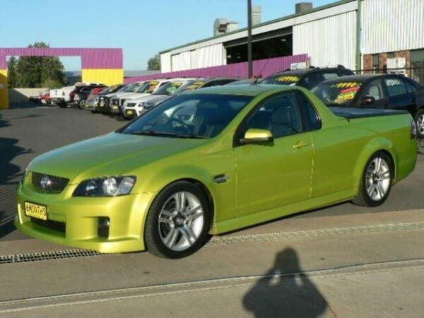 2008 Holden Commodore VE SV6 60TH Anniversary Green 6 Speed Manual Utility