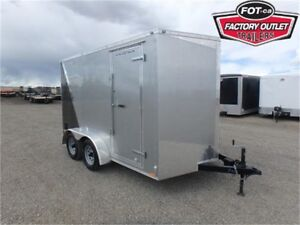 """7 x 12 Tandem Cargo Trailer with +6"""" Extra Height! ~TAX IN~"""