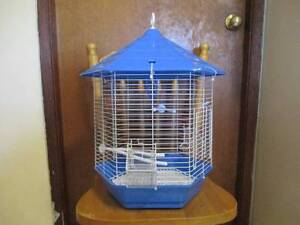Baby budgie & small Hexagonal cage & Stand  Brand New   (  320  ) Narara Gosford Area Preview
