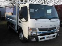 2016 FUSO CANTER ECO HYBRID, DAY CAB, 7C15 DIESEL/ELECTRIC white Automatic