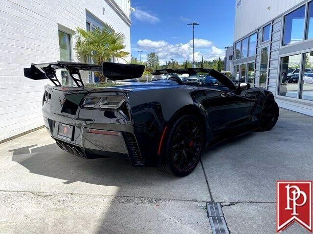 2016 Black Chevrolet Corvette Z06 3LZ   C7 Corvette Photo 3