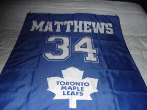 AUSTON MATTHEWS Toronto Maple Leafs huge 3ft x 5ft  banner