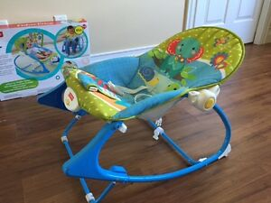 Fisher-Price - Infant-to-Toddler Rocker - like NEW
