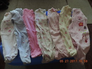Girl's Size 3-6months Sleepers/Onesies