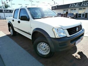 2004 Holden Rodeo RA LX Crew Cab White 5 Speed Manual Utility Victoria Park Victoria Park Area Preview