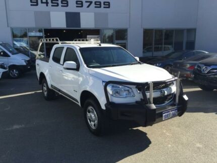 2012 Holden Colorado RG LX (4x4) White 6 Speed Automatic Crewcab Beckenham Gosnells Area Preview