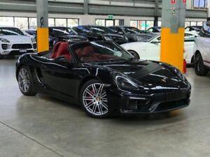 2014 Porsche Boxster 981 GTS Convertible 2dr PDK 7sp 3.4i [MY15] Black Sports Automatic Dual Clutch