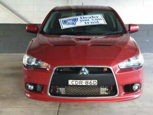 2011 Mitsubishi Lancer CJ Ralliart Red Sports Automatic Dual Clutch Homebush Strathfield Area Preview