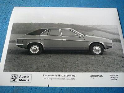 "AUSTIN MORRIS 18 -22  ORIGINAL PRESS PHOTO "" BROCHURE ""  jm"