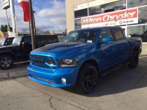 2018 RAM 1500 Hydro Blue Sport Crew Cab