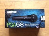 Shure PGA58 Microphone