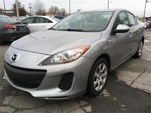 2013 Mazda Mazda3 GROUP ELECT 72,000KM *JAMAIS ACCIDENTÉ*