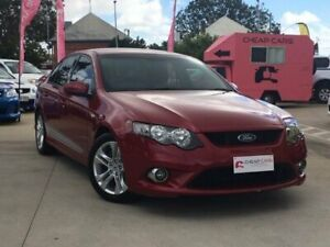 2008 Ford Falcon FG XR6 Maroon 5 Speed Sports Automatic Sedan South Toowoomba Toowoomba City Preview