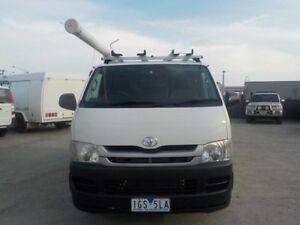 2010 Toyota Hiace White Manual Van