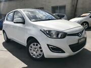 2012 Hyundai i20 PB MY12 Active White 5 Speed Manual Hatchback Cambridge Park Penrith Area Preview